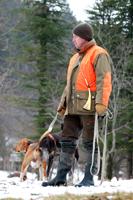 Traqueur et son chien