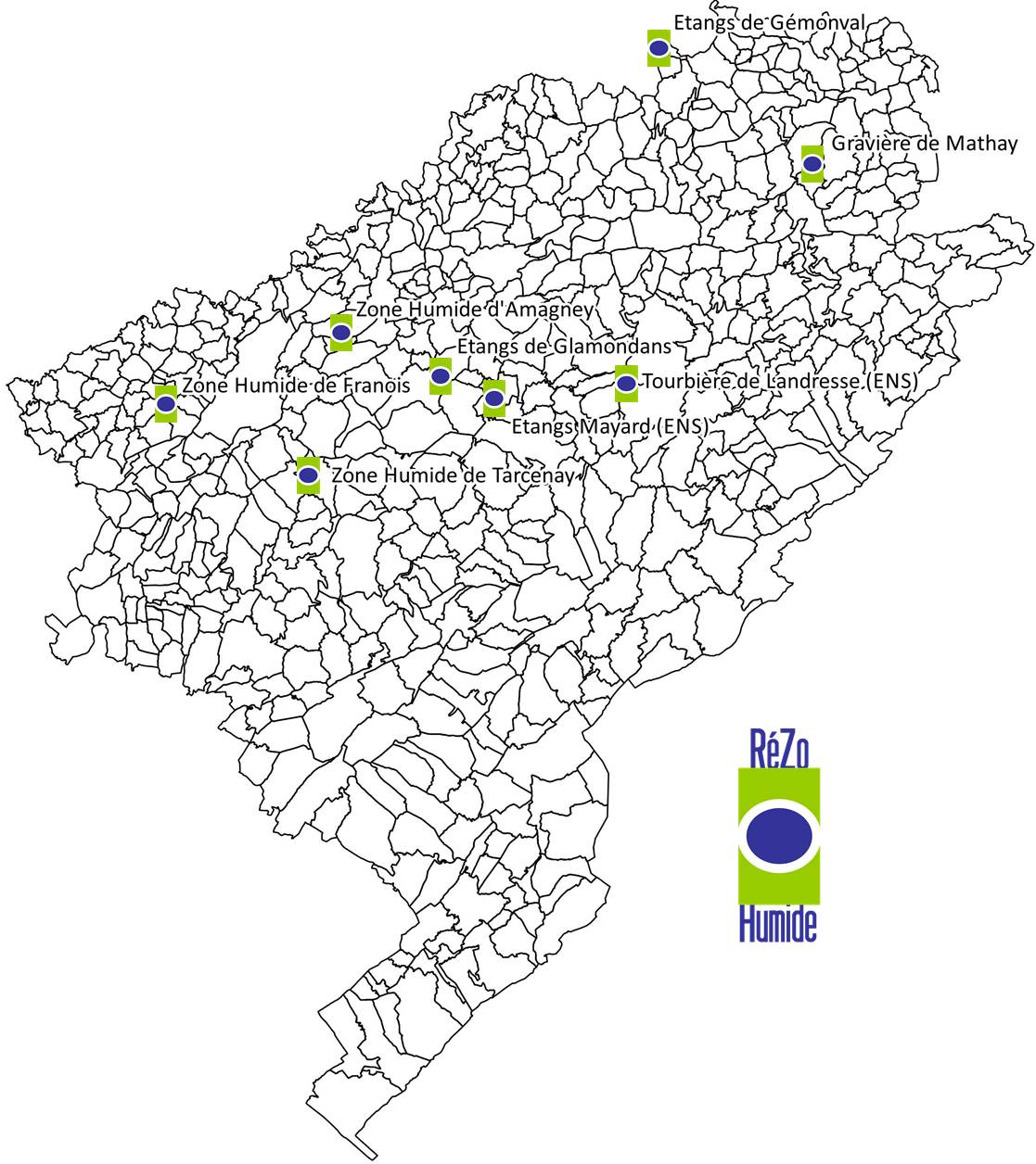 Carte site Rezo