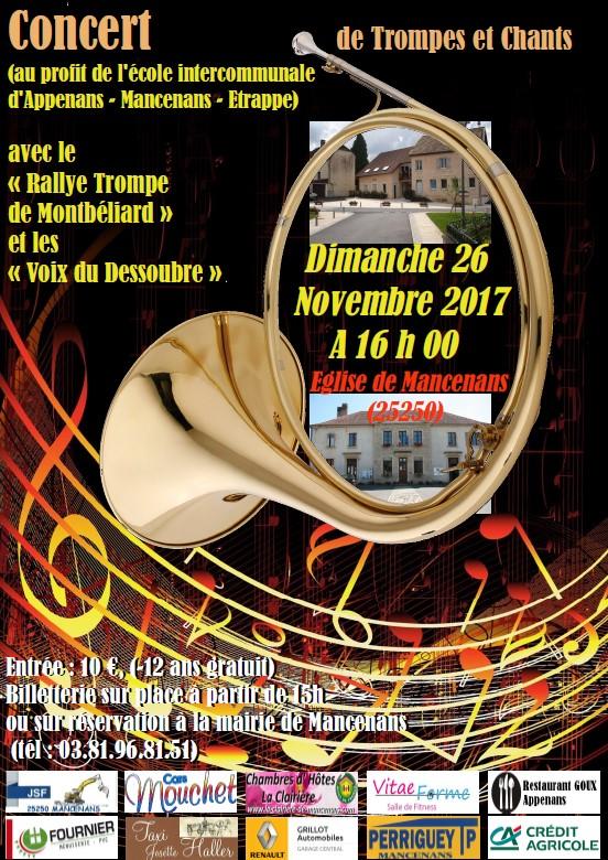 Concert Mancenans
