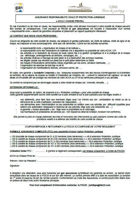 Offre assurance RC/PJ